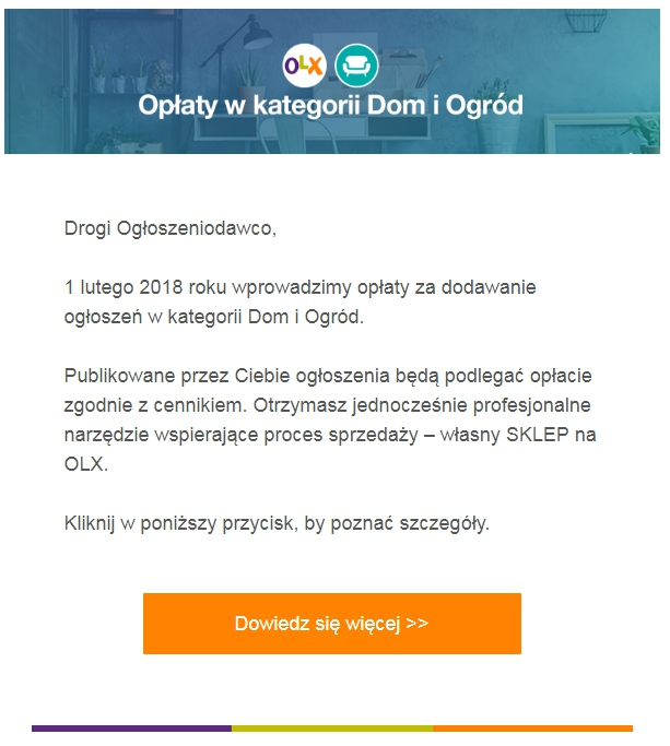 olx nowy cennik