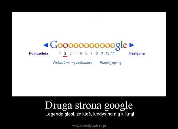 Legenda google głosi
