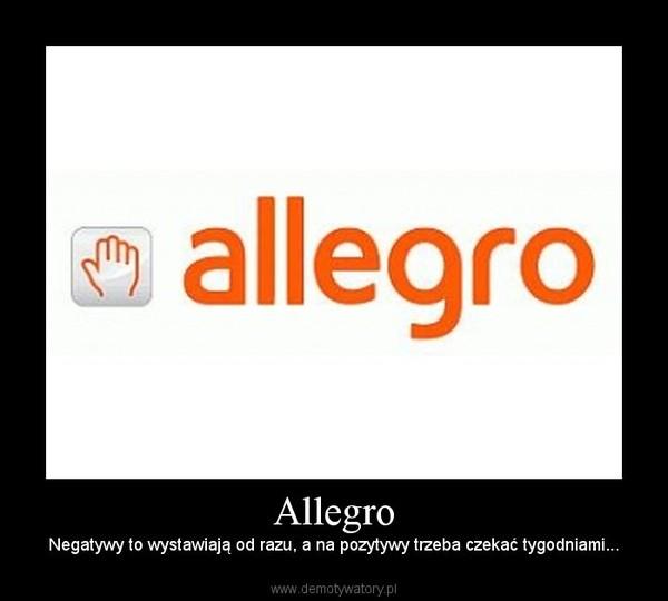 Negatyw na Allegro