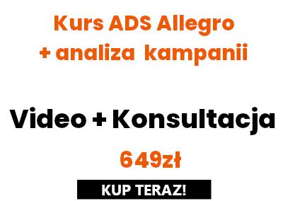 Allegro Ads + Analiza kampanii