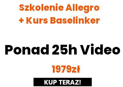 Szkolenie Allegro + BaseLinker